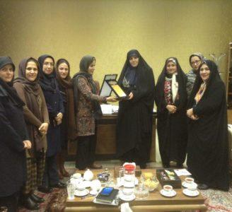 ملاقات جمعی از موسسین و هیات مدیره موسسه راز  با دستیار ویژه رییس جمهور در امور حقوق شهروندی